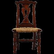 Dollhouse Queen Ann Style Side chair