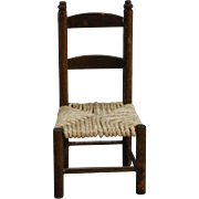 Dollhouse Ladderback Side Chair