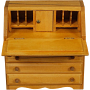 Governor Winthrop style Drop-front Desk for Dollhouse