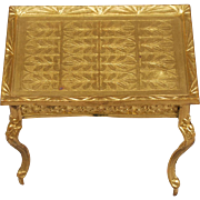Occasional Table in Ormolu, from Erhard and Söhne