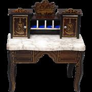 Biedermeier Dollhouse Writing Table