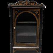 Biedermeier Bookcase or Cabinet  for Dollhouse