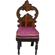 Biedermeier Side Chair in the Rococo Taste