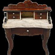 Unusual Biedermeier Ladies Writing Desk