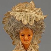 18th century Continental Wax Doll