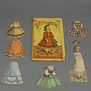 19th Century Paper Doll