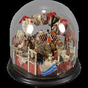 Grodner Tal Bazaar Seller Under a Glass Dome