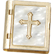 Small Book-form Box with Rosary