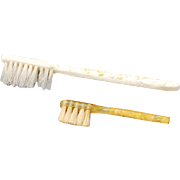 19th C. Doll-sized Tooth Brushes