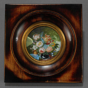 French Floral Still Life Painting