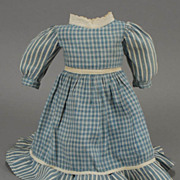 French Bebe or German Child Doll Dress