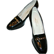 REDUCED Vintage Saks Fifth Avenue Patent Leather Shoes