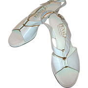 "REDUCED Vintage White ""Penaljo"" Sandal"