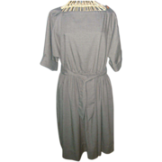 REDUCED Vintage Pierre Balmain Paris Raglan Style Dress