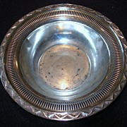 "REDUCED ""Richmond Hills Lodge"" Silver-plate Bowl"