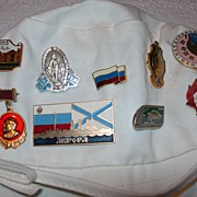 SOLD Collection of USSR Pins