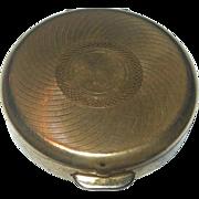 REDUCED Vintage Round Stratton Pill Case