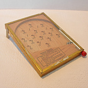 REDUCED Vintage Miniature Bagatelle Game