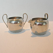 REDUCED Cream and Sugar Set Made in Occupied Japan