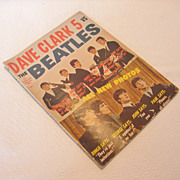 REDUCED Vintage Dave Clark 5 Vs The Beatles Fan Magazine, 1964