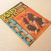 REDUCED Vintage The Beatles Meet Dave Clark 5 Magazine, 1964