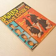 REDUCED Vintage The Beatles Meet Dave Clark 5 Magazine, 1964