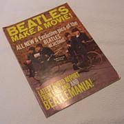 REDUCED Vintage The Beatles Make a Movie, Magnum Publications Magazine, 1964