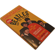 "SALE ""The Beatles Up To Date"" Paperback Book, Circa 1964"