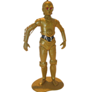 SOLD 1977 C3PO Fundimensions Model, Assembled with Base