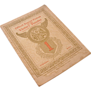 REDUCED Official Souvenir Program of the Victory Parades, 1919