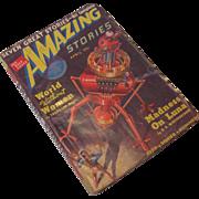 REDUCED April 1939 Amazing Stories Magazine Vol 13 No. 4