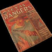 REDUCED August 1938 Texas Rangers Magazine Vol 7 No 1