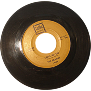 "REDUCED The Beatles 45 rpm ""Love Me Do"" and ""P.S. I Love You"""