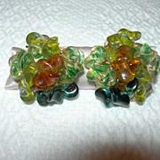 REDUCED Judith McCann Designs Wing-back Earrings