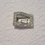 REDUCED Vintage Clear Rhinestone Sweater Clip