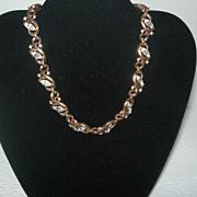 REDUCED Vintage Trifari Gold-tone Vine Necklace