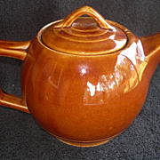 REDUCED Vintage McCoy Teapot with country charm!