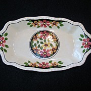 REDUCED Vintage Adams Titian Ware Candy Plate