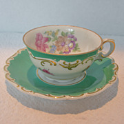 REDUCED Schumann Bavaria Germany U.S. Zone Cup & Saucer