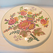 REDUCED Large Vintage Wedgewood Floral Platter