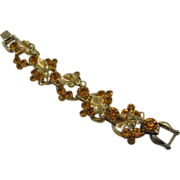 SALE Juliana D&E Calla lily bracelet in Yellow and Amber (Last Chance Sale)