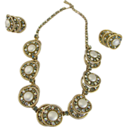SALE Hobe Stunning Necklace and Earring set Fit for a Royal night out