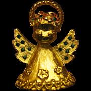 SALE Mylu Christmas Angle pin