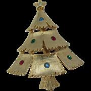 SALE Cute little J.J Christmas tree pin