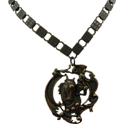 Knight in shinning armor Necklace