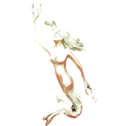 1940's Sterling Mermaid brooch done by C. Roupoli