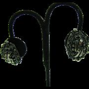 Vintage Botticelli earrings clip on
