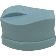 Pretty Baby Blue early plastic ring box in MOD design