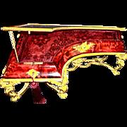 Antique Rare Red Tortoise Shell Vitrine 19th c, French, fantastic  Bronze mounts. Vitrine is i