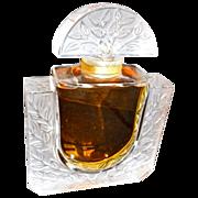 Giant Lalique Chevrefeulle  Perfume Bottle